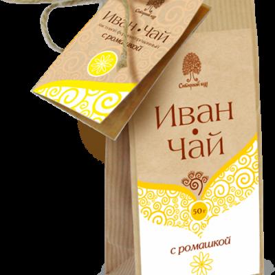 Иван-чай с ромашкой / крафт