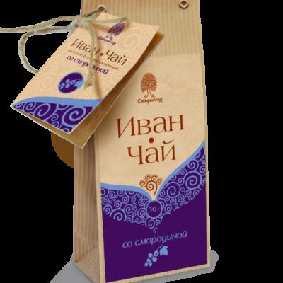 Иван-чай со смородиной / крафт
