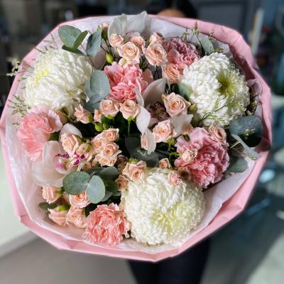 Букет розовых тонов